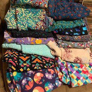 13 pairs on LuLaRoe TC leggings!
